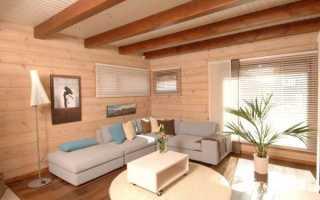 Чем покрасить деревянный дом внутри: делаем выбор