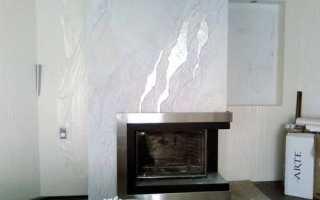 Белая декоративная штукатурка: как применять в интерьере