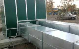 Вентиляционные короба: материалы, размеры, монтаж и демонтаж