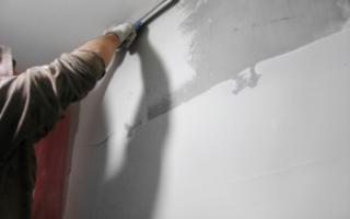 Финишная шпатлевка стен: как она делается