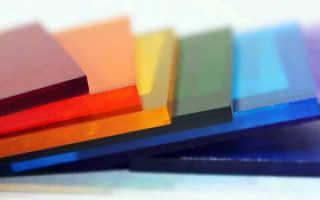Характеристики монолитного поликарбоната – технические особенности литой плиты