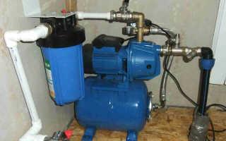 Установка и подключение насосной станции к скважине своими руками