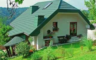 Покраска крыши дома – какой цвет лучше