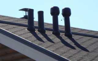 Вывод вентиляционного оборудования кафе на крышу жилого дома