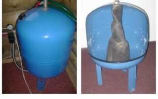 Обслуживание и ремонт гидроаккумулятора в системе водоснабжения