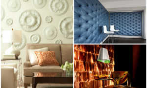 Краска на стены вместо обоев: технологии отделки