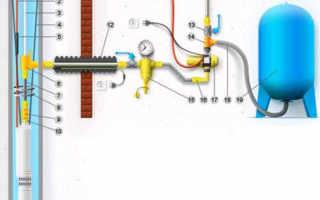 Как подключить скважинный насос: схема подключения к скважине, автоматике и электросети