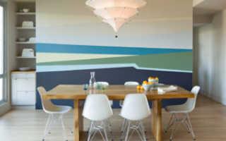 Покраска стен на кухне: какой краской, как и чем красить кухонные стены