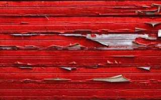 Как снять краску с дерева