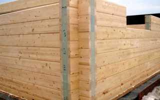 Расчет строительства дома из деревянного бруса