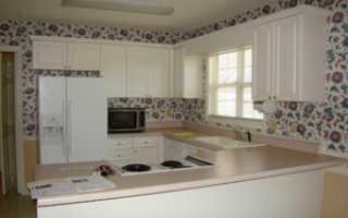 Стены на кухне: чем отделать – возможные варианты