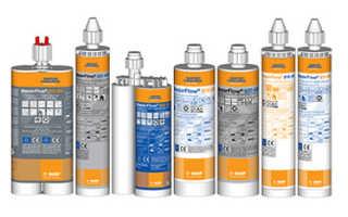Концерн BASF представил обновленную линейку химических анкеров