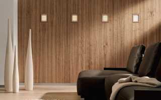 Как выбрать панели на стену под дерево
