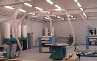 Системы аспирации для деревообработки: устройства для отходов и фильтры