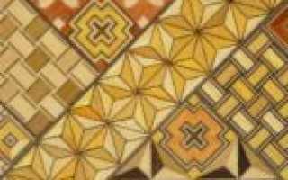 Деревянная мозаика для стен: виды и особенности