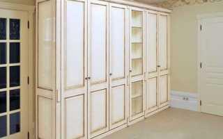 Покрасить шкаф. Порядок проведения работ