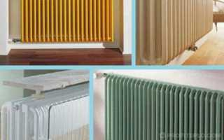 Виды радиаторов отопления: типы батарей, критерии выбора для квартиры