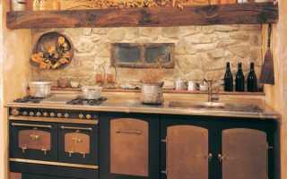 Отделка кухни декоративным камнем: делаем своими руками
