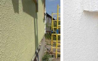 Что такое краска фактурная фасадная и как с ней работать