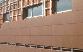 Технологическая карта по облицовке фасадов керамогранитом:советы