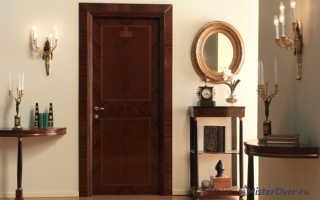 Как снять старую краску с двери и покрасить деревянную дверь