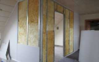Стены с гипсокартона. Особенности монтажа
