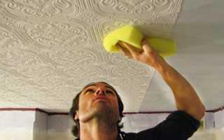 Как клеить на потолок флизелиновые обои: делаем по инструкции