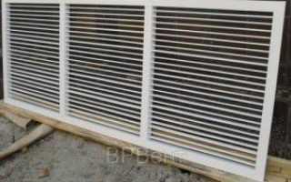 Вентиляционные решетки: виды, производство, подбор, установка, монтаж