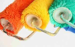 Валики для покраски: какие бывают, какой выбрать, советы по уходу