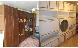 Чем и как покрасить мебель из ДСП своими руками