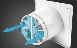 Как подобрать вентилятор для принудительной вентиляции помещения