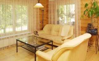 Чем внутри отделать деревянный дом: выбираем материал