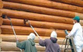 Как покрасить деревянный дом снаружи правильно