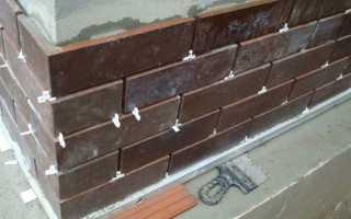 Как выполняется облицовка клинкерной плиткой фасадов