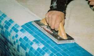 Как выполняется облицовка мозаичной плиткой