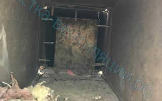 Дезинфекция и чистка воздуховодов систем вентиляции