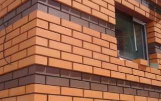 Как выполняется облицовка кирпичом окон