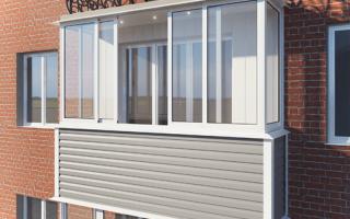 Как выполняется наружная отделка балконов