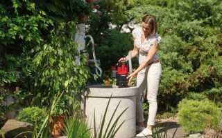 Откачка воды из колодца: оборудование, выбор способа и технология