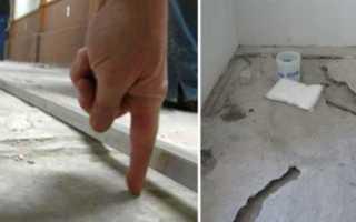 Выравнивание бетонного пола своими руками: способы, что лучше выровнять