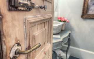 Ремонт деревянных дверей: реставрация старых межкомнатных дверей и лакировка
