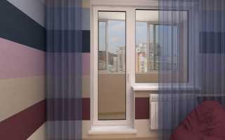 Как снять балконную дверь ПВХ с петель: видео, разборка
