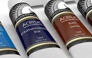 Виды акриловых красок на водной основе: характеристики и применение