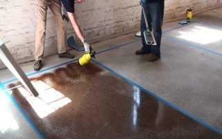Чем покрасить бетонный пол в гараже. Покраска бетонных полов