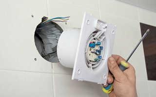 Установка вентилятора в ванной своими руками: схемы, инструкции