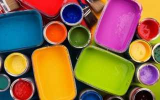Краска на водной основе: разновидности и применение