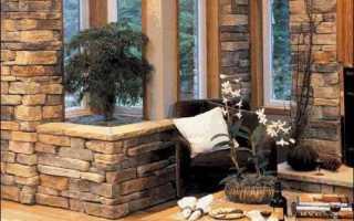 Отделка камнем:основные характеристики материала