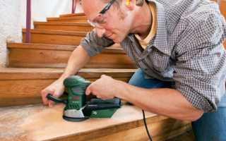 Как и чем покрасить деревянную лестницу