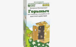«Горыныч» для туалетов и выгребных ям: состав, инструкция по применению