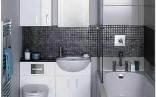 Отделка маленькой ванной комнаты:какой лучше выбрать материал